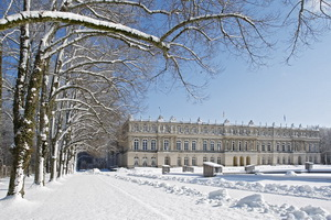 Schloß-Herreninsel-Winter